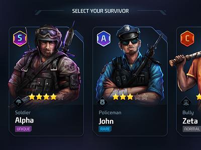 GUI PRO Kit Sci-Fi Survival suvivor game gui character 2d asset ui survival