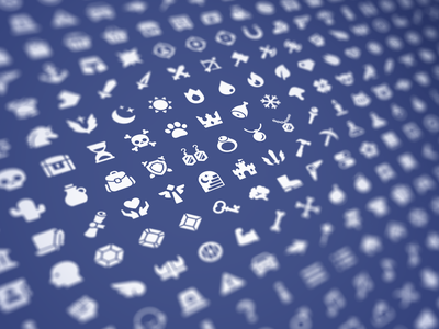 GUI PRO Kit - Simple Casual picto layerlab assetstore gui 2d game asset icon set icons asset