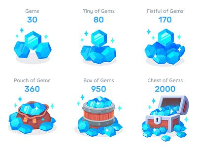 GUI PRO Kit - Simple Casual blue mobile game asset 2d unity layerlab asserstore package gem shop asset