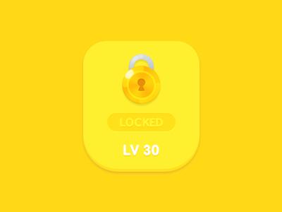 GUI Kit Yellow Kids Level Lock