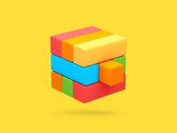 Kid App Icon Jenga