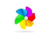Kid App Icon Pinwheel