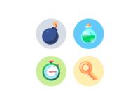 Gui Kit Mono Round Icon