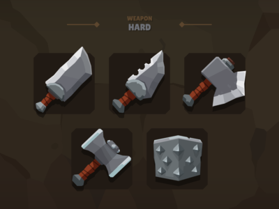 Casual Weapon Icon Hard