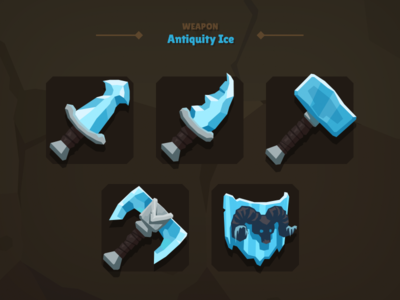 Casual Weapon Icon Ice