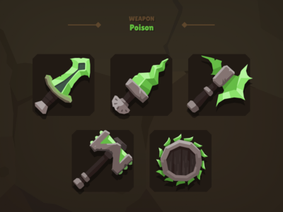 Casual Weapon Icon Poison
