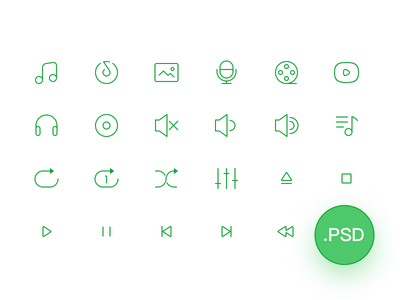 Free 2px Line Icons