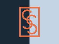 SS Luxury Shop logotype brand identity logo