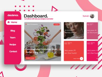 Dashboard designs! design illustrator minimal website web development web design ux ui web illustration