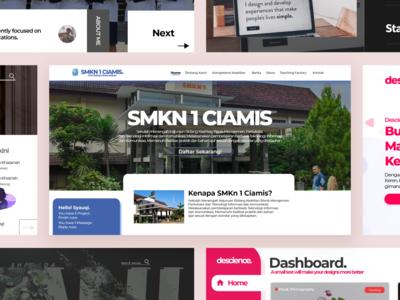 My Second Portofolio branding animation flat website web development web design ux ui design web illustration