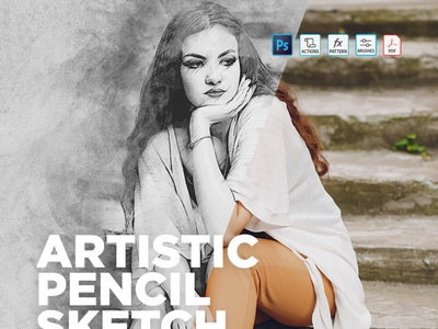Photoshop Actions Artistic Pencil Sketch Effect sketch effect artistic artistic photo effect artistic pencil sketch effect image editing photo effect download photoshop actions free photoshop actions