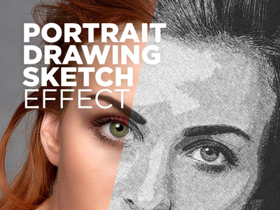 Free Photoshop Actions Portrait Drawing Sketch Effect #2 sketch photos effect portrait sketch effect free photoshop actions photoshop actions sketch effect drawing effect