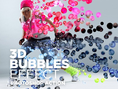 Free Actions for Photoshop 3D Bubbles Effect #3 download actions photo effect 3d bubbles photo effect 3d bubbles effect download photoshop actions free photoshop actions