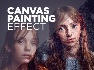 Free Photoshop Action Canvas Painting Effect #5 painting effect knife painting canvas painting effect photo effect download photoshop actions free photoshop actions