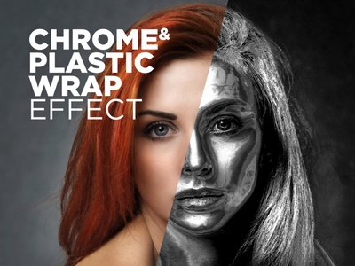 Free Photoshop Action Chrome & Plastic Wrap Effect #7 plastic wrap effect photoshop chrome effect chrome photo effect download photoshop actions free photoshop actions