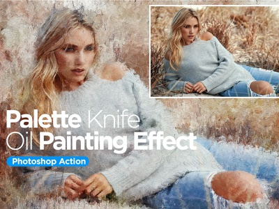 Painting Effect photoshop action action photoshop painting photoeffect illustration design
