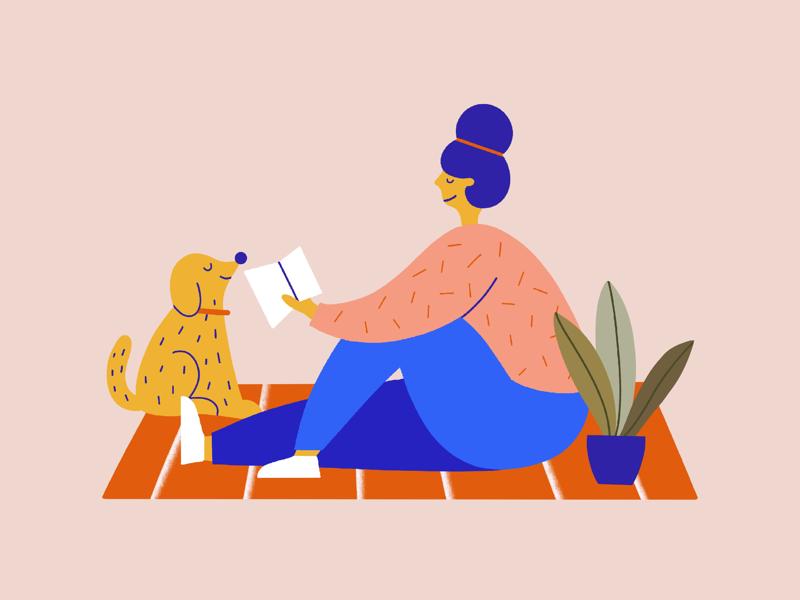 Saturday morning illustration daily illustration art cute procreate illustrator character design illustration
