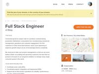 Job Page