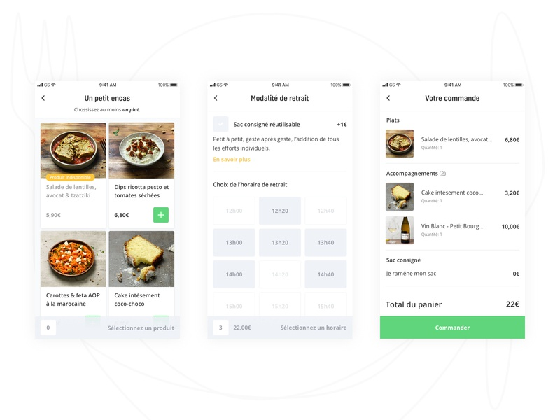 Foodi iOS App 🍉 app clean mobile app design mobile app ios food app food
