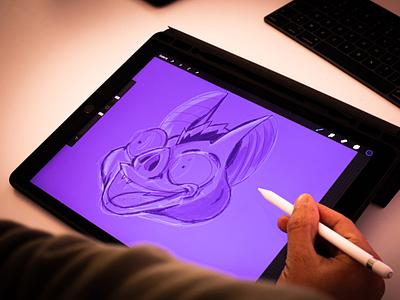 Bat doodle doodleart drawing character illustration batman doodle bat