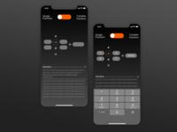 Fraction calculator app
