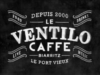 Artwork for The Ventilo Caffe - Biarritz, FR.