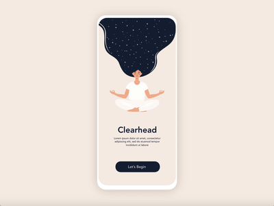Onboarding interaction design xd adobe xd illustrations onboarding animation animation interaction design mediatation onboarding ui onboarding interaction