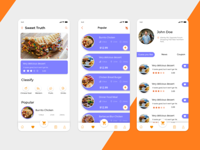 Food Delivery App (concept)