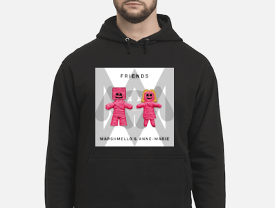 Marshmello And Anne Marie's Friends T shirt