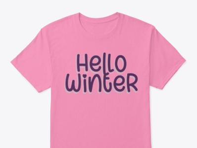 Hello Winters T Shirt
