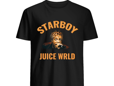 The Weeknd Juice WRLD Starboy T-Shirts