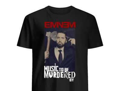 Music To Be Murdered By Eminem Album T-Shirt