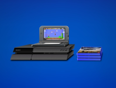 PS4&3DS