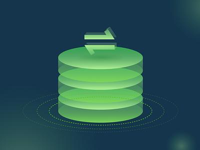Data import database illustration