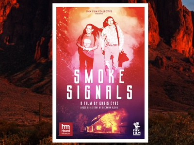 Smoke Signals poster for PHX Film Collective