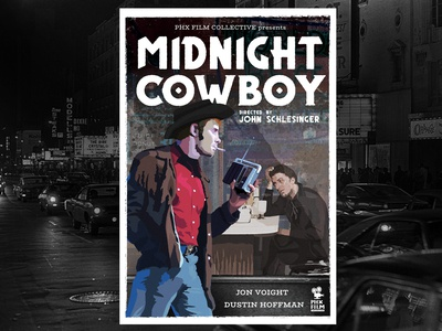 Midnight Cowboy alternative movie poster