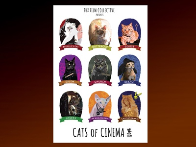 Cats Of Cinema poster