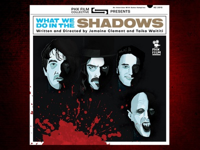 What We Do In The Shadows alternative movie poster