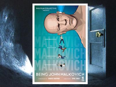 Being John Malkovich alternative movie poster