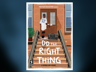 Do The Right Thing alternative movie poster