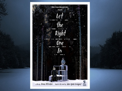 Let The Right One In alternative movie poster