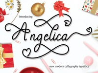 Angelica - Free Modern Calligraphy Font