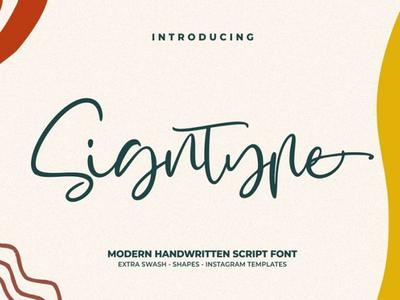 Signtype - Free Script Font