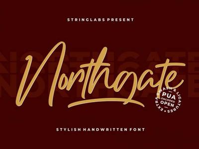 Northgate Free Script Font