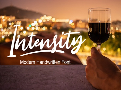 Intensity Handwritten Font Free