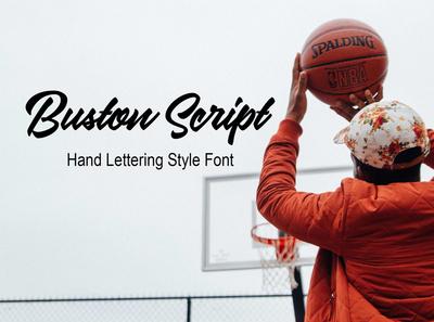 Buston Script Font Free