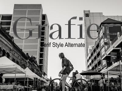 Grafier Serif Style Alternate Font Free