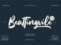Beattingvile Beautiful script font Free