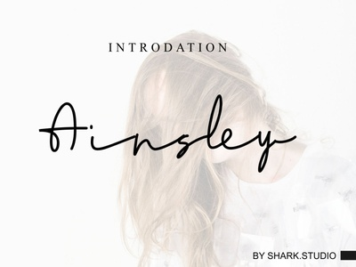 Ainsley Signature Font