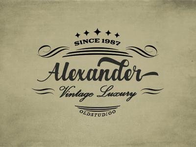 Alexander - Free Classy Script Font